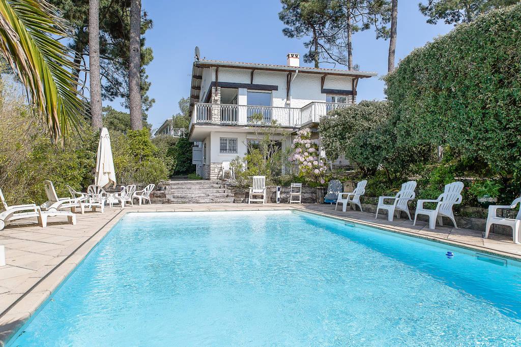 Location Maison Villa De Luxe Arcachon 33120 Vacances De