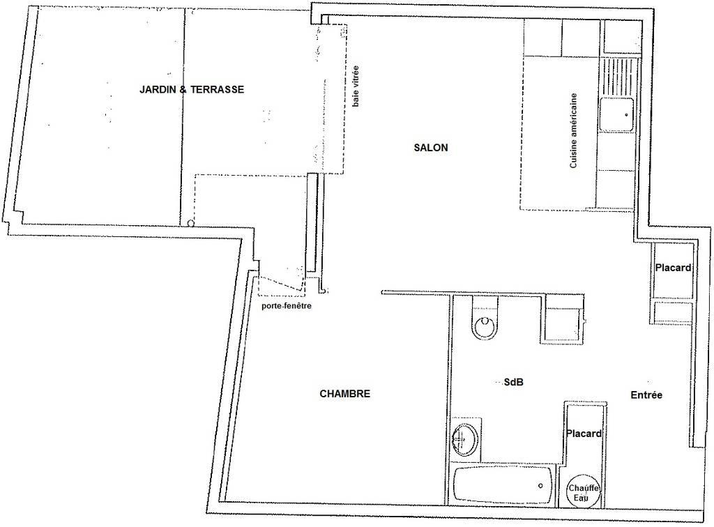location appartement 2 pi ces 46 m villejuif 94800 46 m de particulier. Black Bedroom Furniture Sets. Home Design Ideas