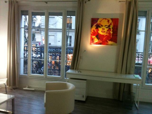 Location meublée appartement 2pièces 60m² Paris - 1.780€
