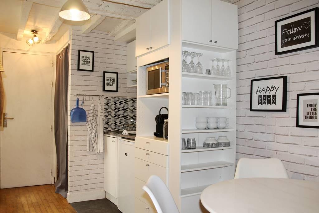 Location meubl e studio 21 m paris 21 m de for Location meuble paris particulier