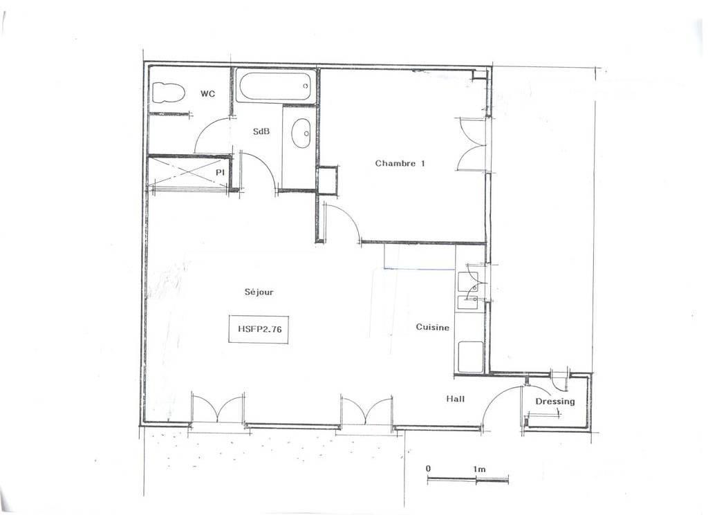 location appartement 2 pi ces 50 m levallois perret 92300 50 m de particulier. Black Bedroom Furniture Sets. Home Design Ideas