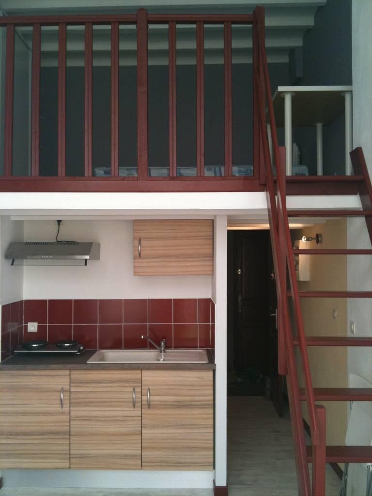 Location meubl e studio 40 m lyon 7e 40 m 700 e de - Location meuble lyon particulier ...