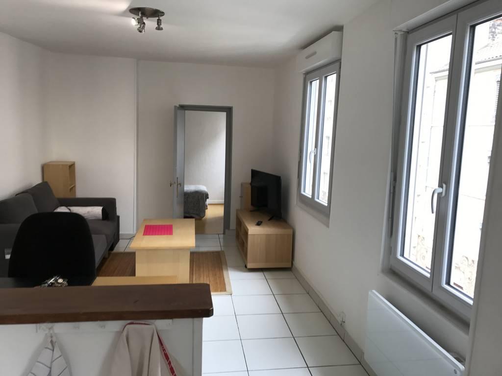 Location meublée appartement 2 pièces 50 m² Lyon 7E 50
