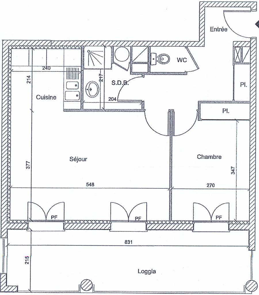 Location appartement 2 pi ces 49 m compiegne 60200 49 m 650 e de particulier - Location appartement compiegne ...