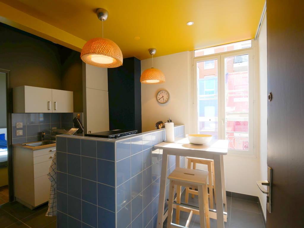 location meubl e appartement 2 pi ces 38 m villeurbanne 69100 38 m 980 de. Black Bedroom Furniture Sets. Home Design Ideas