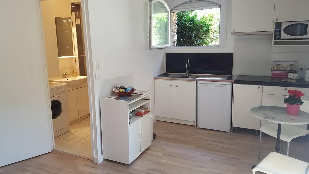 Location meubl e studio 23 m bourg la reine 92340 23 for Hauteur paillasse cuisine