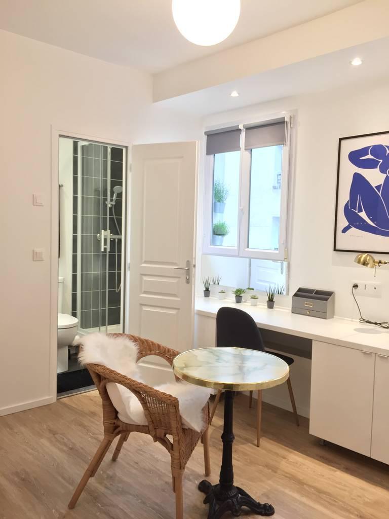 Location meubl e studio 17 m paris 17e 17 m 910 for Location meuble paris 17 particulier