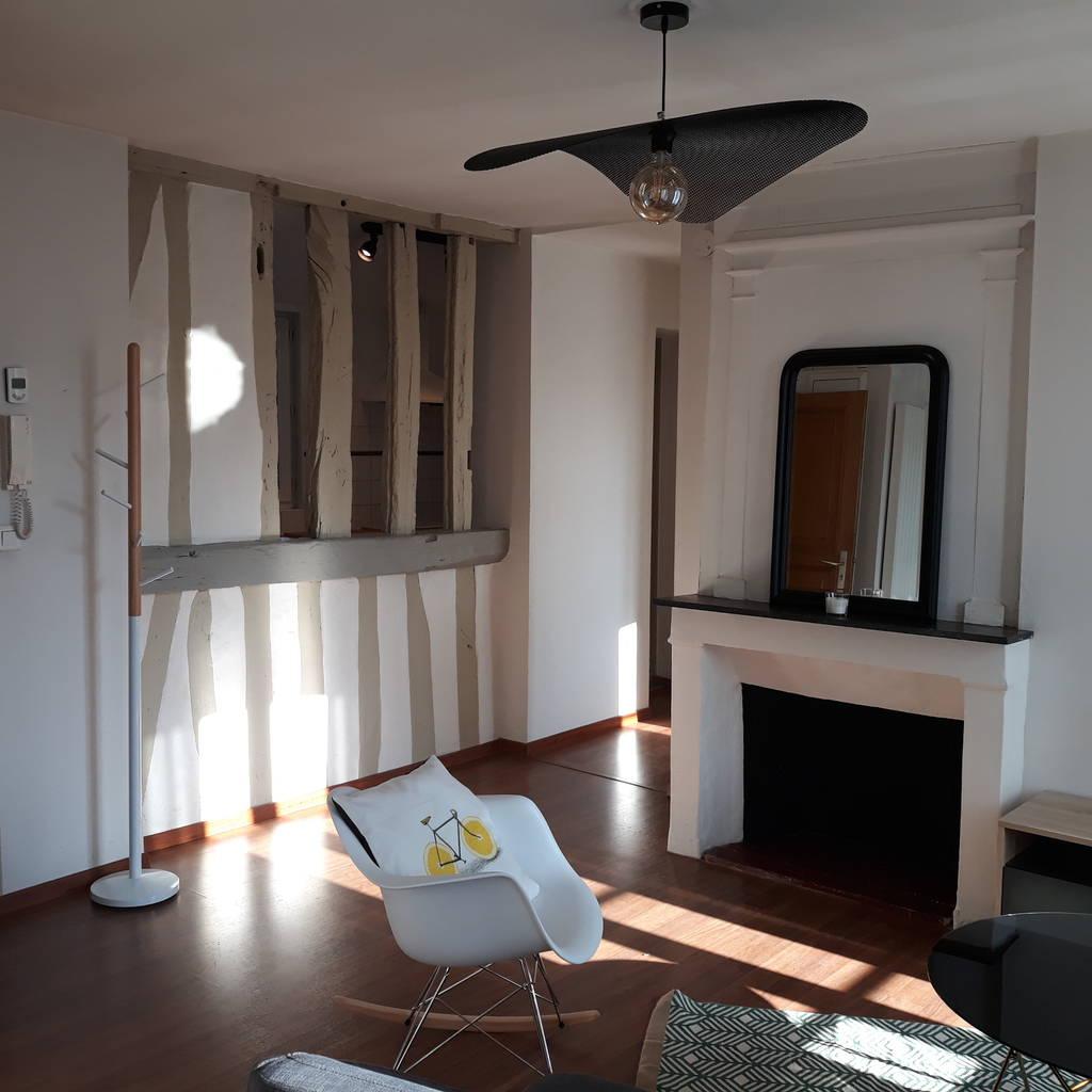 location meubl e appartement 3 pi ces 49 m rouen 76 49 m 780 de particulier. Black Bedroom Furniture Sets. Home Design Ideas