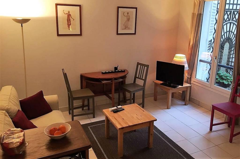 location meubl e appartement 2 pi ces 30 m levallois perret 92300 30 m de. Black Bedroom Furniture Sets. Home Design Ideas
