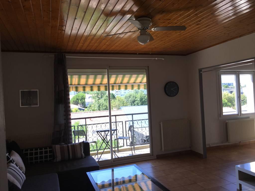 Location meubl e appartement 4 pi ces 75 m merignac for Location appartement bordeaux et alentours
