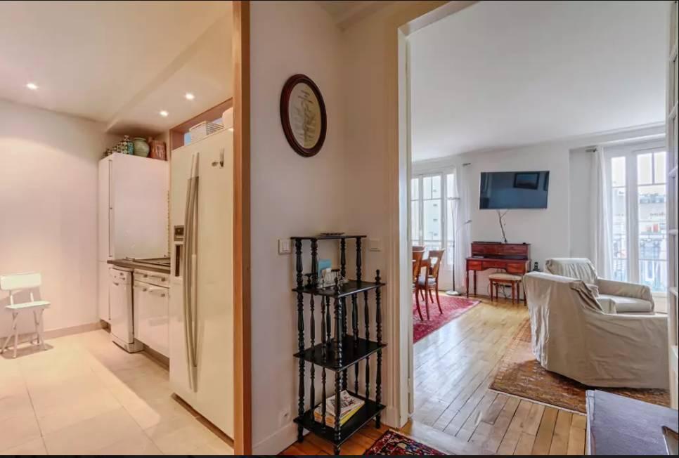 Location meublée appartement 3pièces 70m² Paris 16E - 2.375€