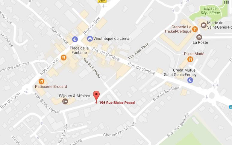 Appartement 1.415€ 57m² Saint-Genis-Pouilly (01630)