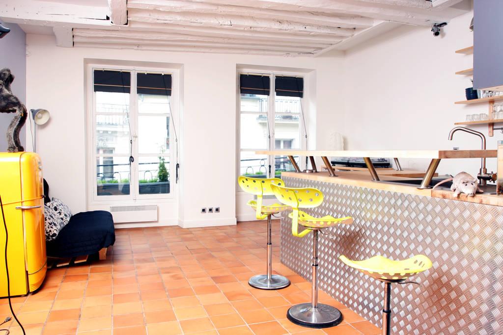 Location meublée appartement 2pièces 50m² Paris 1Er - 1.750€