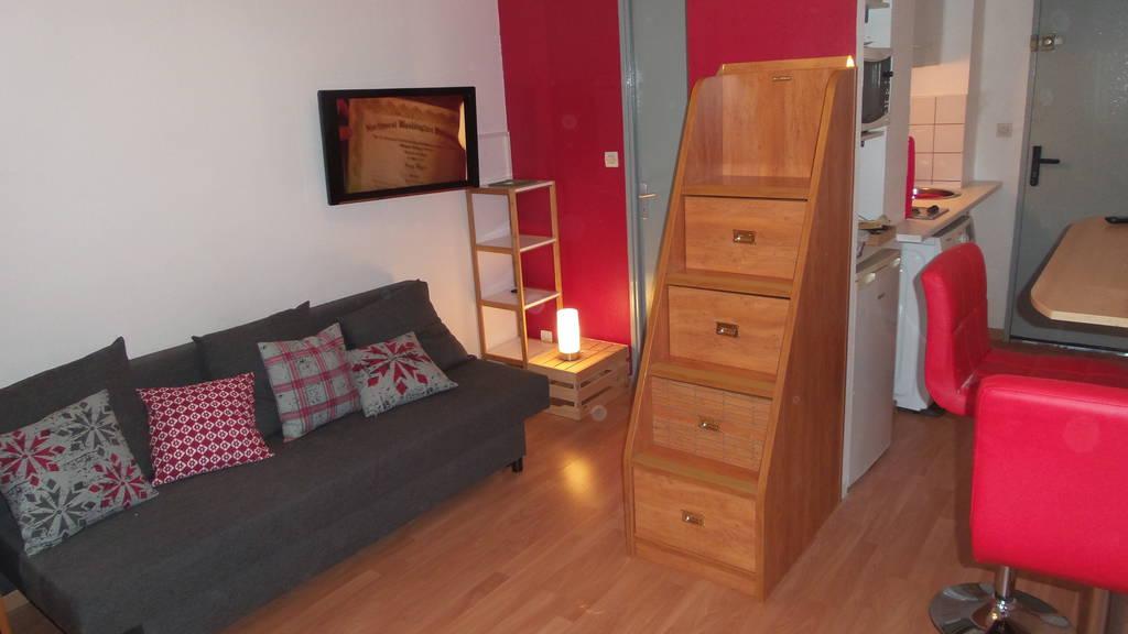 Location meublée studio 18m² Montauban (82000) - 390€